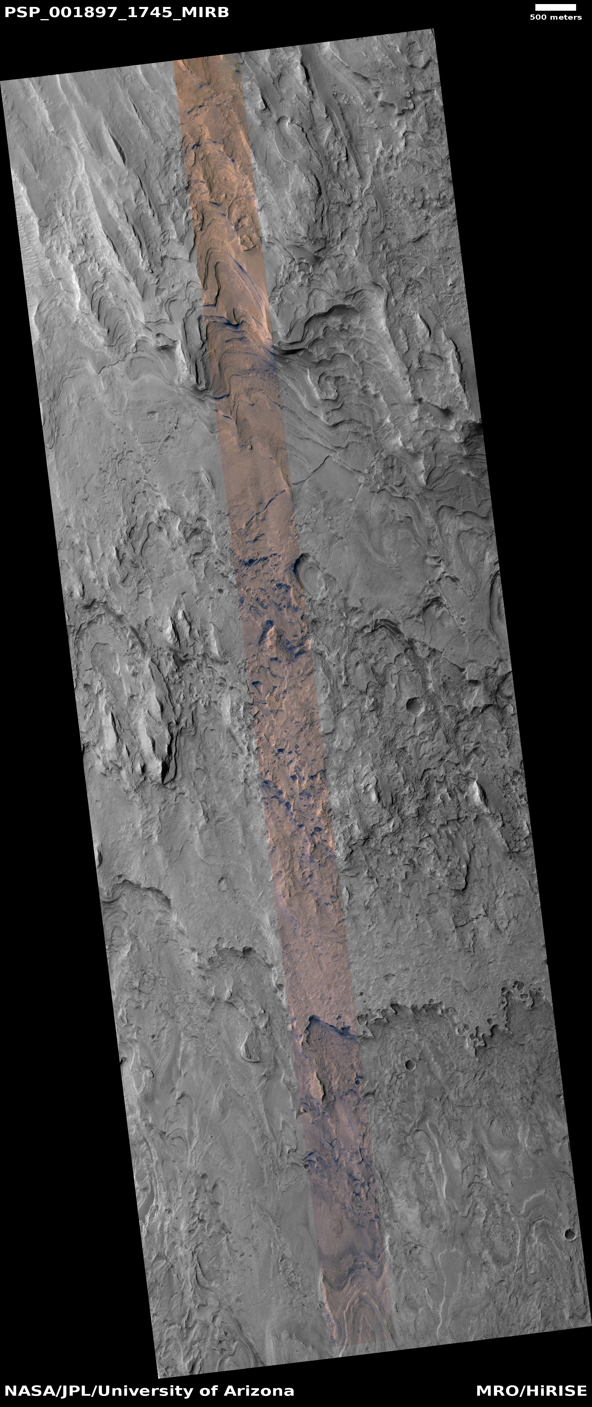 HiRISE   Layers in Gale Crater (PSP_001897_1745)