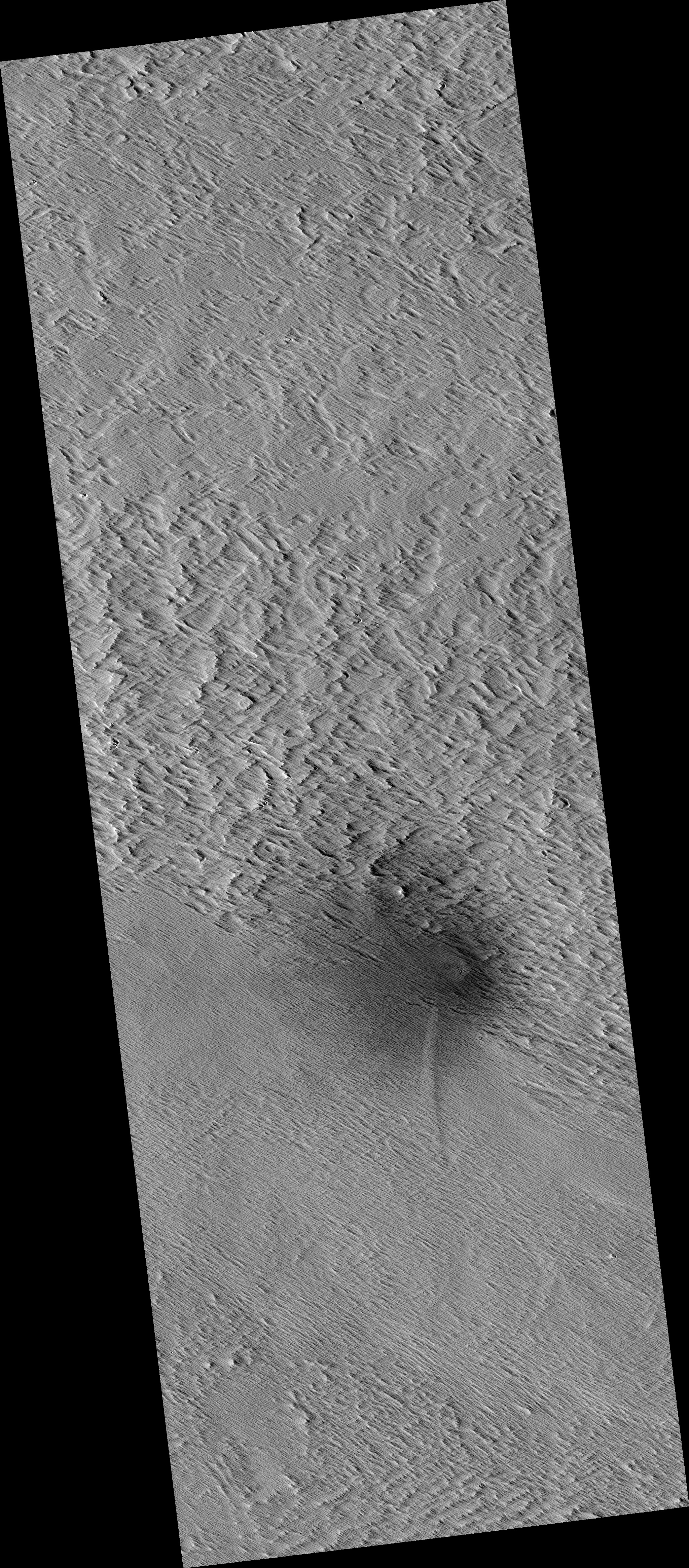 Dust Avalanches Triggered by Impact Event
